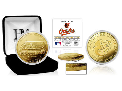 Baltimore Orioles Highland Mint Stadium Gold Mint Coin