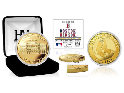 Boston Red Sox Highland Mint Stadium Gold Mint Coin