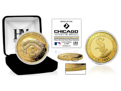 Chicago White Sox Highland Mint Stadium Gold Mint Coin