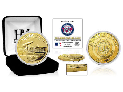 Minnesota Twins Highland Mint Stadium Gold Mint Coin