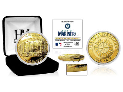 Seattle Mariners Highland Mint Stadium Gold Mint Coin