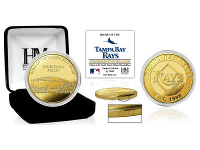Tampa Bay Rays Highland Mint Stadium Gold Mint Coin