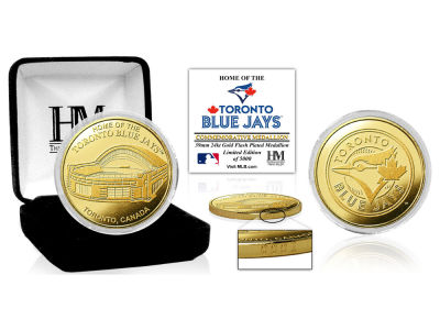 Toronto Blue Jays Highland Mint Stadium Gold Mint Coin