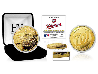 Washington Nationals Highland Mint Stadium Gold Mint Coin