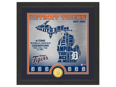 Detroit Tigers Highland Mint State Coin Photo Mint
