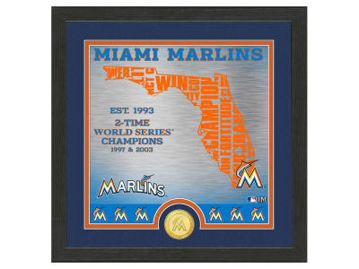 Miami Marlins Highland Mint State Coin Photo Mint
