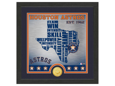 Houston Astros Highland Mint State Coin Photo Mint