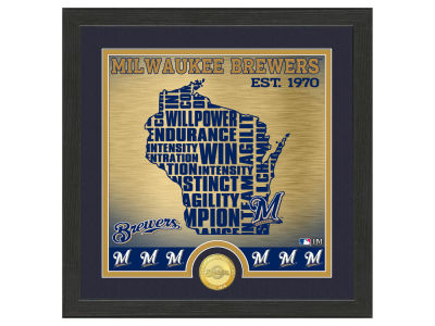 Milwaukee Brewers Highland Mint State Coin Photo Mint