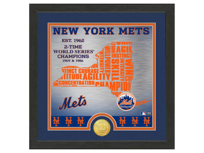 New York Mets Highland Mint State Coin Photo Mint