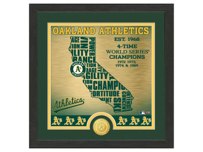 Oakland Athletics Highland Mint State Coin Photo Mint