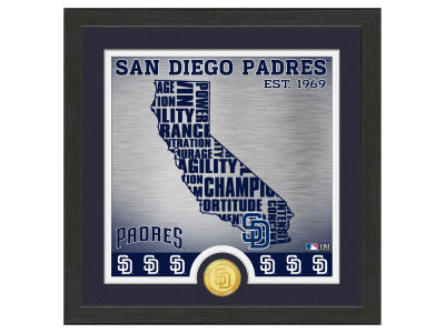 San Diego Padres Highland Mint State Coin Photo Mint