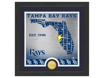 Tampa Bay Rays Highland Mint State Coin Photo Mint