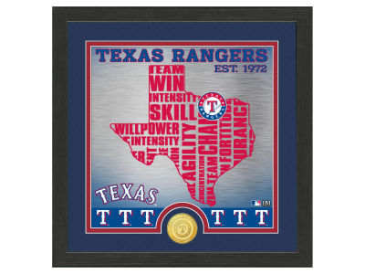 Texas Rangers Highland Mint State Coin Photo Mint