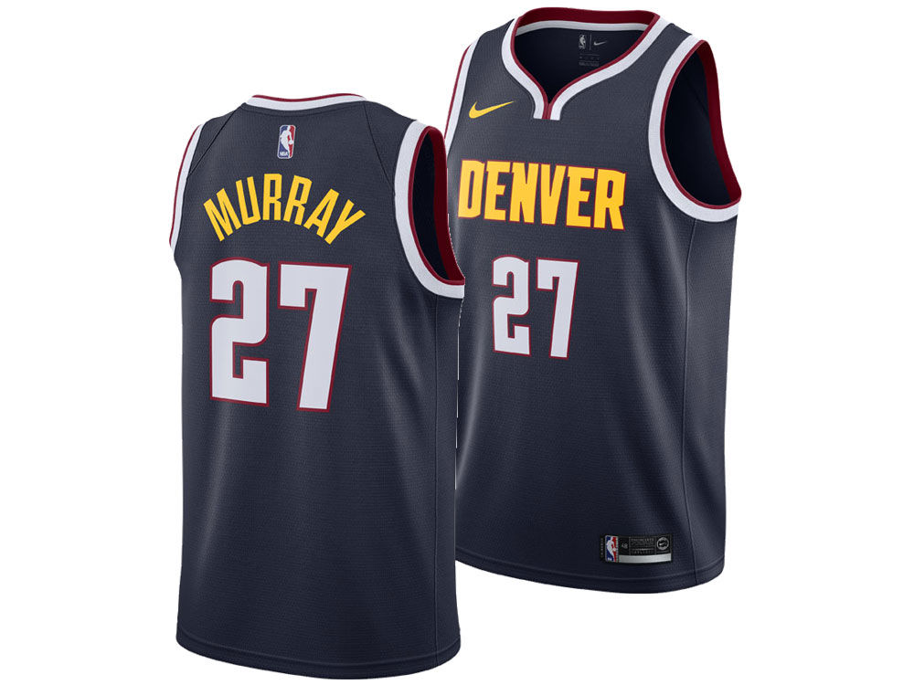 51749ee6a Denver Nuggets Jamal Murray Nike NBA Men s Icon Swingman Jersey ...