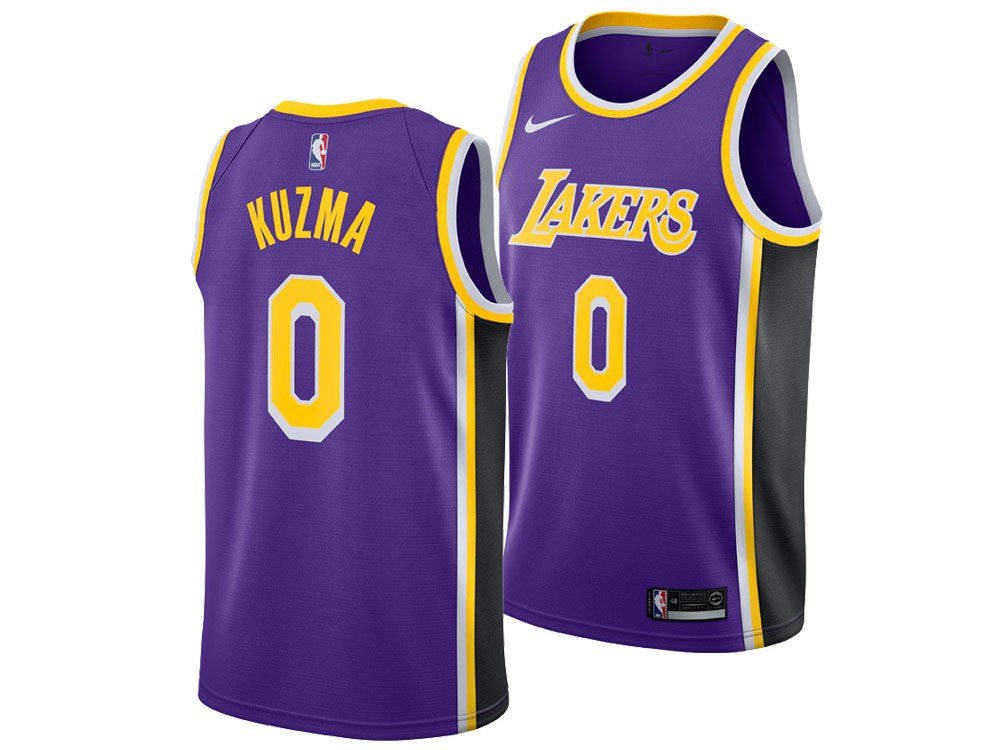 Los Angeles Lakers Kyle Kuzma Nike NBA Men s Statement Swingman Jersey. Los  Angeles Lakers Kyle Kuzma Nike NBA Men s Statement Swingman Jersey a975cdfa8