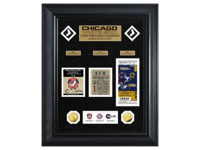 Chicago White Sox Highland Mint World Series Deluxe Gold Coin Ticket Collection