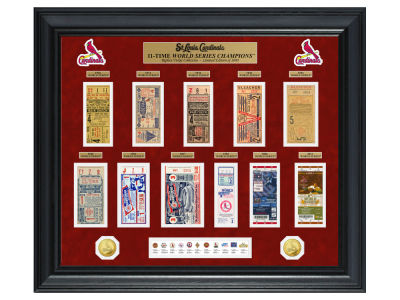 St. Louis Cardinals Highland Mint World Series Deluxe Gold Coin Ticket Collection