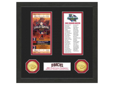 Arizona Diamondbacks Highland Mint World Series Ticket Collection