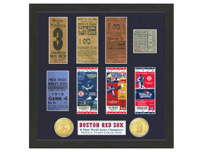 Boston Red Sox Highland Mint World Series Ticket Collection
