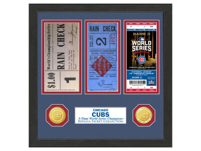 Chicago Cubs Highland Mint World Series Ticket Collection