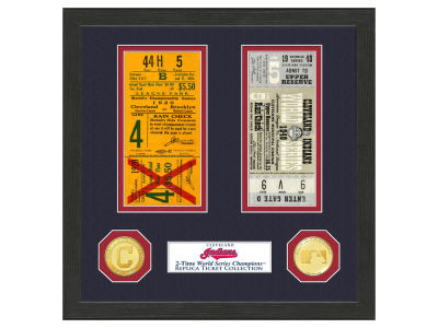 Cleveland Indians Highland Mint World Series Ticket Collection