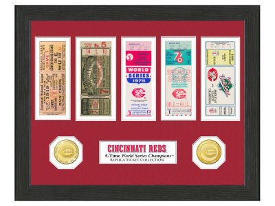 Cincinnati Reds Highland Mint World Series Ticket Collection