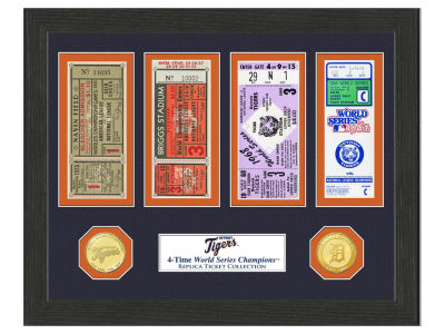 Detroit Tigers Highland Mint World Series Ticket Collection
