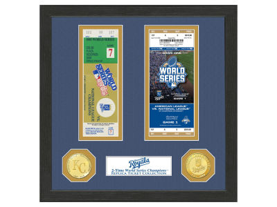 Kansas City Royals Highland Mint World Series Ticket Collection