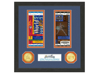 Miami Marlins Highland Mint World Series Ticket Collection