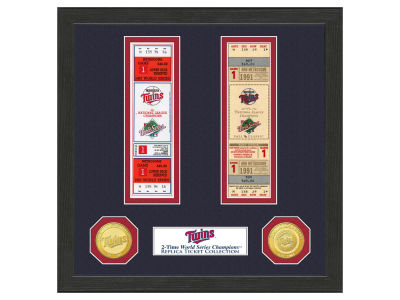 Minnesota Twins Highland Mint World Series Ticket Collection