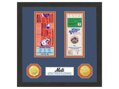 New York Mets Highland Mint World Series Ticket Collection