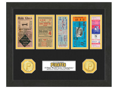 Pittsburgh Pirates Highland Mint World Series Ticket Collection