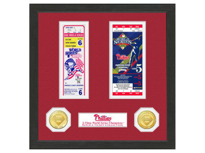 Philadelphia Phillies Highland Mint World Series Ticket Collection