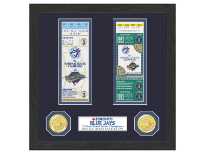 Toronto Blue Jays Highland Mint World Series Ticket Collection