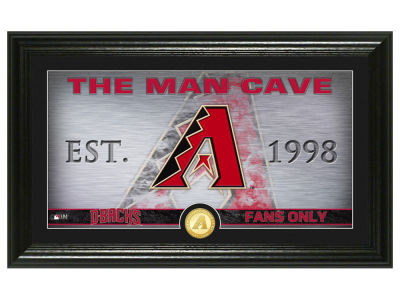 Arizona Diamondbacks Highland Mint Man Cave Panoramic Bronze Coin Photo Mint