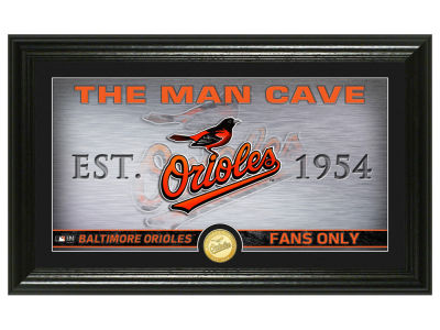 Baltimore Orioles Highland Mint Man Cave Panoramic Bronze Coin Photo Mint