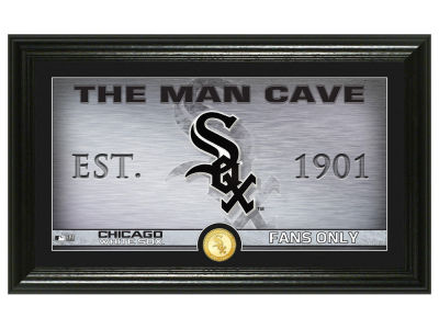 Chicago White Sox Highland Mint Man Cave Panoramic Bronze Coin Photo Mint