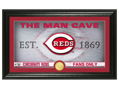 Cincinnati Reds Highland Mint Man Cave Panoramic Bronze Coin Photo Mint