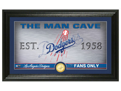 Los Angeles Dodgers Highland Mint Man Cave Panoramic Bronze Coin Photo Mint