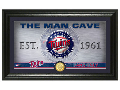 Minnesota Twins Highland Mint Man Cave Panoramic Bronze Coin Photo Mint