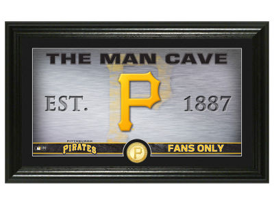 Pittsburgh Pirates Highland Mint Man Cave Panoramic Bronze Coin Photo Mint
