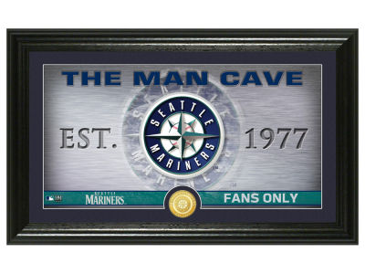 Seattle Mariners Highland Mint Man Cave Panoramic Bronze Coin Photo Mint