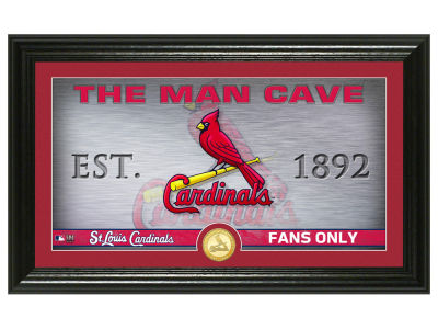 St. Louis Cardinals Highland Mint Man Cave Panoramic Bronze Coin Photo Mint
