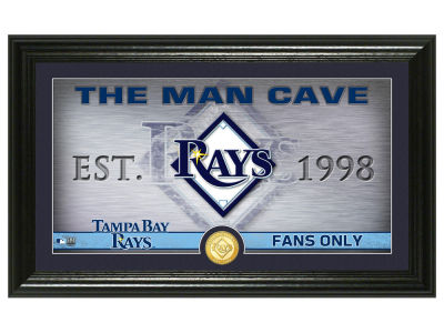 Tampa Bay Rays Highland Mint Man Cave Panoramic Bronze Coin Photo Mint