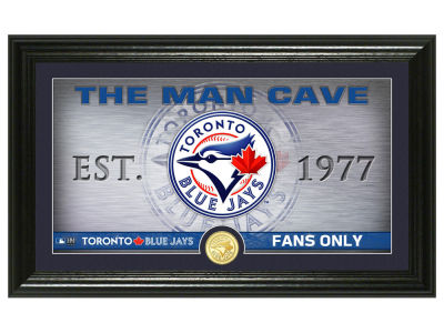 Toronto Blue Jays Highland Mint Man Cave Panoramic Bronze Coin Photo Mint