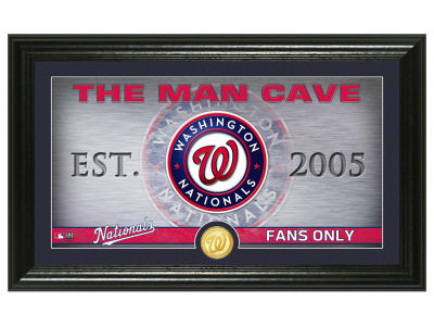 Washington Nationals Highland Mint Man Cave Panoramic Bronze Coin Photo Mint