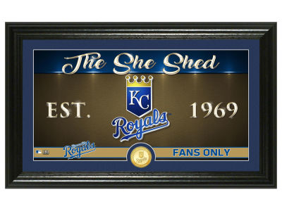 Kansas City Royals Highland Mint She Shed Panoramic Bronze Coin Photo Mint