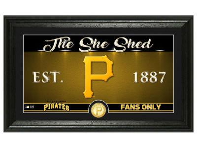 Pittsburgh Pirates Highland Mint She Shed Panoramic Bronze Coin Photo Mint