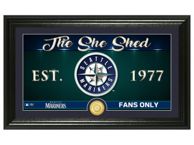 Seattle Mariners Highland Mint She Shed Panoramic Bronze Coin Photo Mint