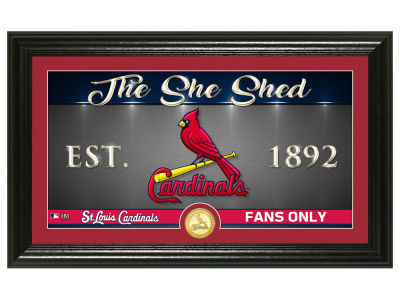 St. Louis Cardinals Highland Mint She Shed Panoramic Bronze Coin Photo Mint